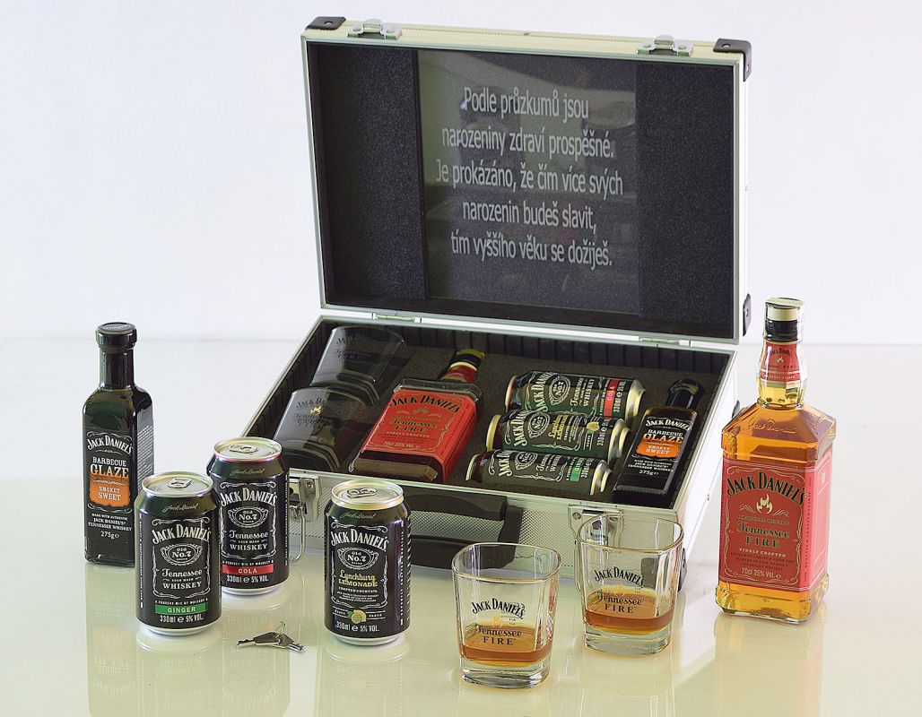 Jack Daniel's Fire AL Walizka Contraband