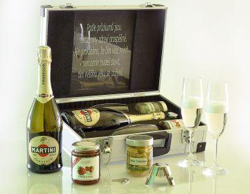 Martini Prosecco AL Walizka