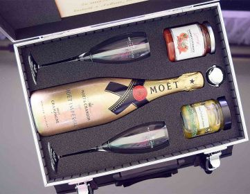 Moët & Chandon Imperial Gold AL Kufr Contraband